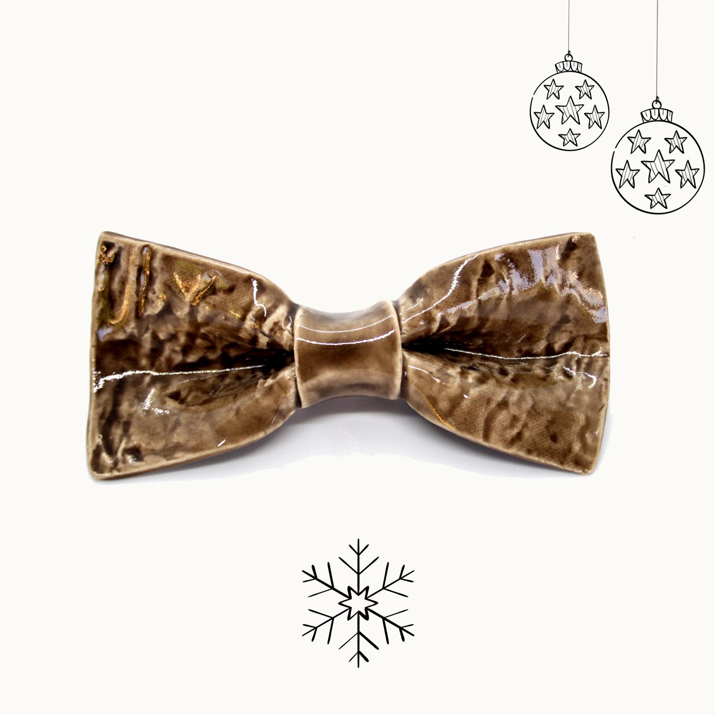 Bowtery Corteza Handmade Ceramic Bow ties. Pajaritas de Cerámica hechas a mano. Regalos originales de navidad. Christmas Gifts Presents