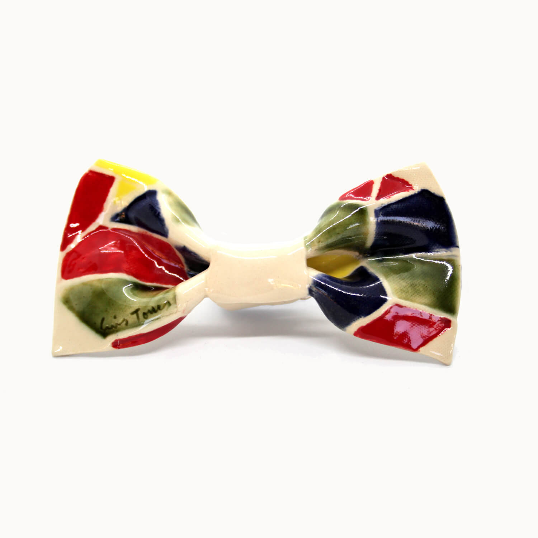 Bowtery handmade ceramic bow ties Pajaritas de cerámica hechas a mano Gaudí