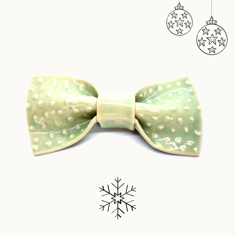 Bowtery Manguilla Handmade Ceramic bow ties. Pajaritas de cerámica hechas a mano. Regalos originales de navidad
