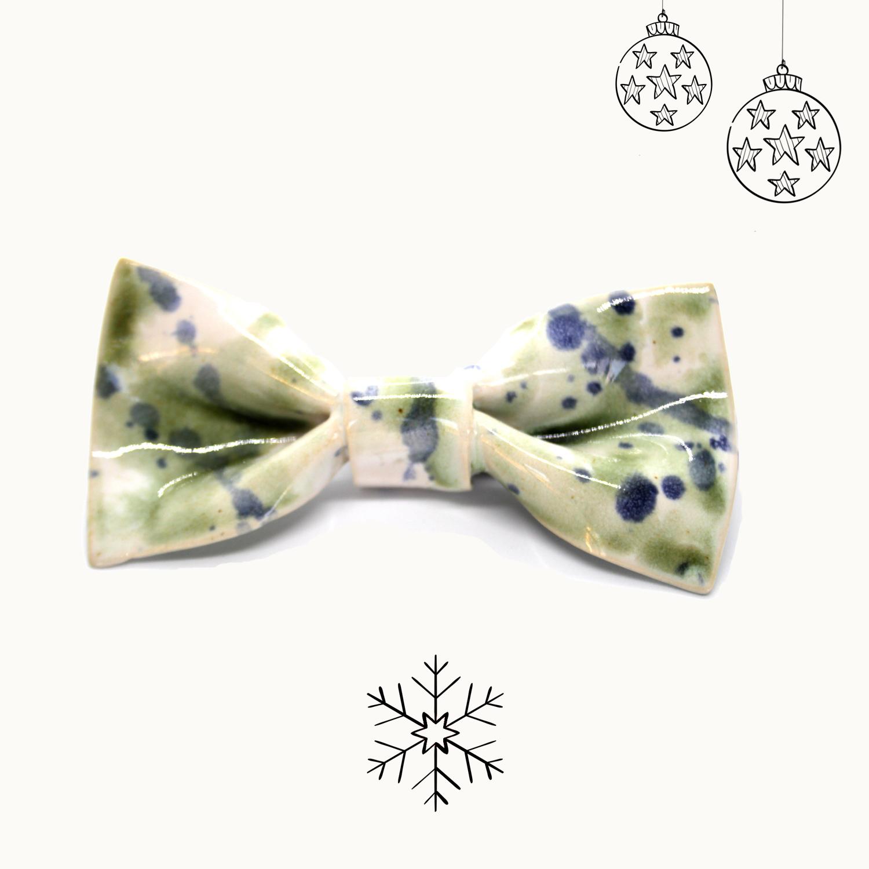 Bowtery Mayo Handmade Ceramic Bow tie. Pajaritas de cerámica hechas a mano. Regalos originales de navidad
