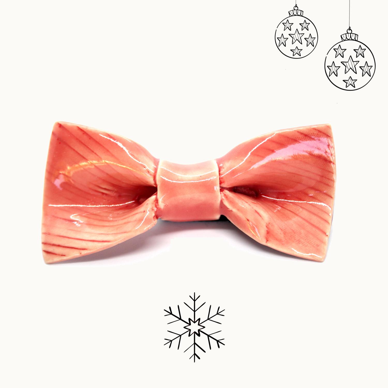 Bowtery Handmade Ceramic bow tie Sunset Pajarita de Cerámica hecha a mano. Regalo de navidad original