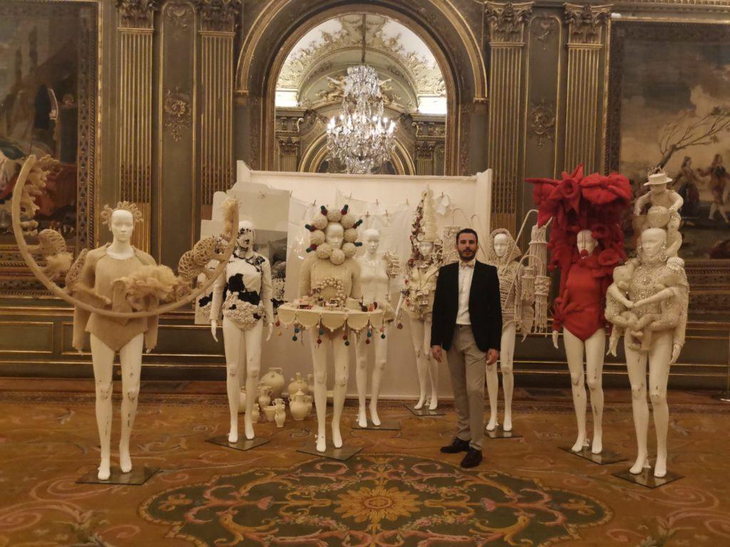 Ceramista Luis Torres La Rambla Cordoba colabora con Leandro Cano en colección OFRENDA Paris Fashion Week